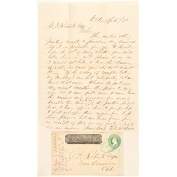 Elko, Wells Fargo Entire with interesting mining letter  (99120)