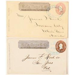 Treasure City, Wells Fargo Entire (James Read #1)  (99094)