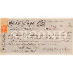 Wells Fargo Second of Exchange  (102261)