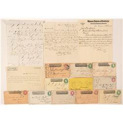Remainder of Wells Fargo Postal History  (99000)