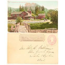 Dayton, Wells Fargo Entire Sent to Lake Bigler, Nevada  (99105)