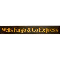 Wells Fargo & Co. Express Sign (Replica)  (91197)