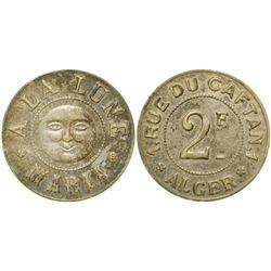 A La Lune Maria Brothel Token  (104125)