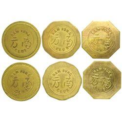 Nam Fong Club Tokens  (104136)