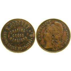 Y. Jolivet Brothel Token  (104141)