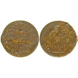 Mme Reine Brothel Token  (103516)