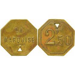 La Marquise Brothel Token (T4)  (103539)
