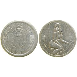 Tenampa Club Brothel Token  (104577)