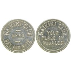 Waikiki Club Brothel Token  (104579)