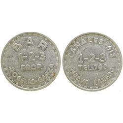 Bar 1-2-3 Brothel Token  (104580)