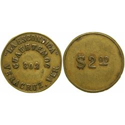 La Escondida Brothel Token  (104589)