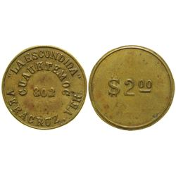 La Escondida Brothel Token  (104587)