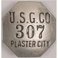 United States Gypsum Co. ID Badge  (102815)