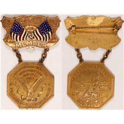 L T J E Menber Badge  (102814)