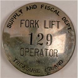 Treasure Island ID Badge  (102810)