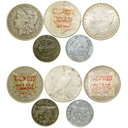 Frontier Village Tokens and Advertising Dollars  (101655)