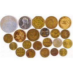 Butte County Token Collection  (101689)