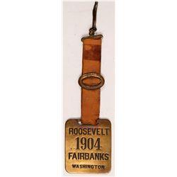 Roosevelt Political Medal  (102839)