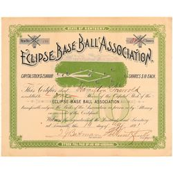 Eclipse Base Ball Association with Fabulous Vignette  (101419)