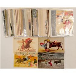 Bull Fighting Post Cards RPC's & Chromolitho's  (102799)