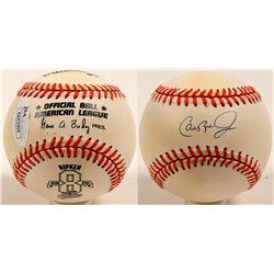 Cal Ripken Jr. Autographed Baseball   (100264)