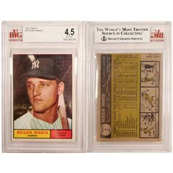 1961 TOPPS Roger Maris Card  (104065)
