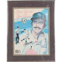 1983 New York Yankees Year Book Signed By Billy Martin  (104098)