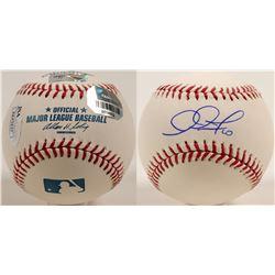 Adam Jones autographed baseball  (100268)