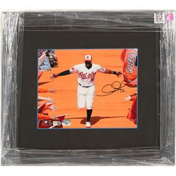 Adam Jones Autographed Photo  (100315)