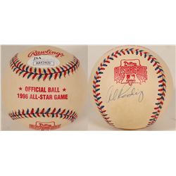 Alex Rodriguez autographed All Star Baseball  (100287)