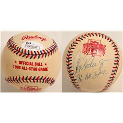 Alex Rodriquez autographed All-Star game baseball  (100278)