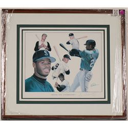 Baseball Lithograph signed by Artist  (100567)