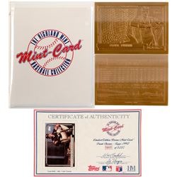 Bronze baseball card of Frank Thomas by Mint-Card   (100308)
