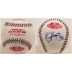 Bryce Harper autographed All Star Baseball  (100269)