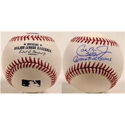 "Cal Ripken Jr. autographed baseball ""2632 Consecutive Games""  (100267)"