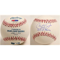 "Cal Ripken Jr. autographed baseball ""Hall of Fame"" ball  (100291)"
