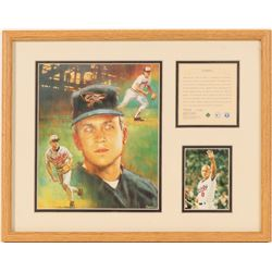 Cal Ripken Jr. lithograph and photo  (100578)