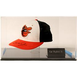 Cal Ripken Jr. signed ball cap  (100585)