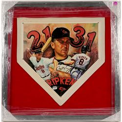 Cal Ripken Jr. Signed Home Plate  (100575)