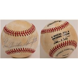 "Enos ""Country"" Slaughter signed Baseball  (104604)"