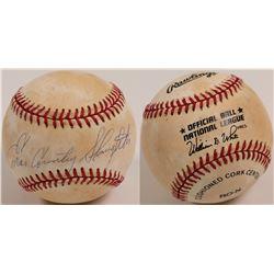 "Enos ""Country"" Slaughter signed Baseball  (104604)"