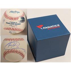 Felix Hernandez autographed baseball  (100275)