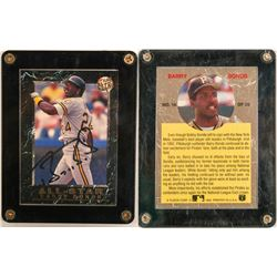 Fleer Ultra Card Signed and Owned by Bonds  (104105)