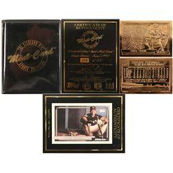 Frank Thomas Gold Mint Ball Card  (100304)