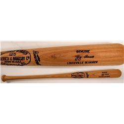 Game Bat Signed By Yogi Berra  (104558)