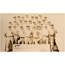 Genuine 1927 St. Louis Baseball Team Photo Postcard  (104118)