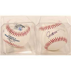 Giancarlo Stanton signed Baseball  (100300)