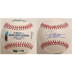 Giancarlo Stanton signed Baseball  (100288)