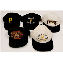 Group of Hats Owned By Barry Bonds  (104112)