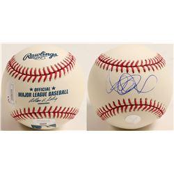 Ichiro Suzuki autographed baseball  (100285)